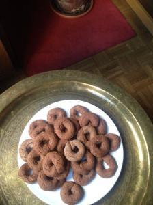 rosquillas almendra y canela